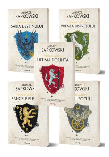 Pachet Seria Witcher - Set 5 volume