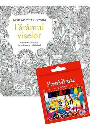 Pachet Taramul viselor + Set 12 Creioane colorate