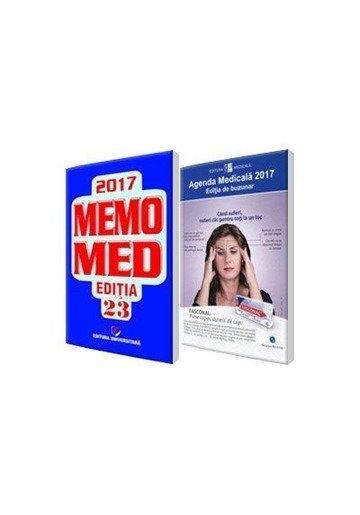 Pachetul complet al farmacistului: Agenda Medicala 2017 + MemoMed 2017