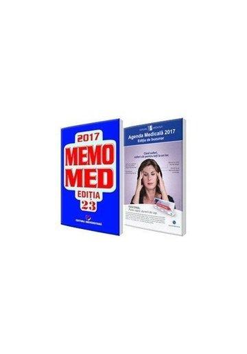 Pachetul complet al farmacistului: Agenda Medicala 2018 + MemoMed 2018