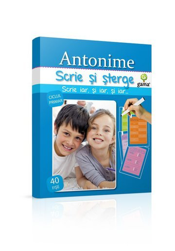 Scrie si sterge - Antonime