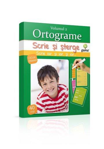 Scrie si sterge - Ortograme, Vol. 2