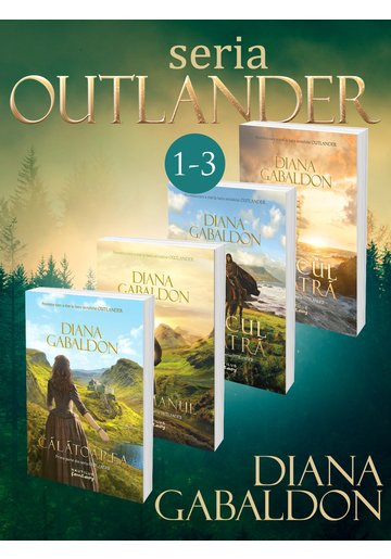 Seria Outlander. Partea 1+2+3. Set 4 carti