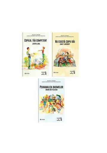 Set 3 carti Educatie cu blandete