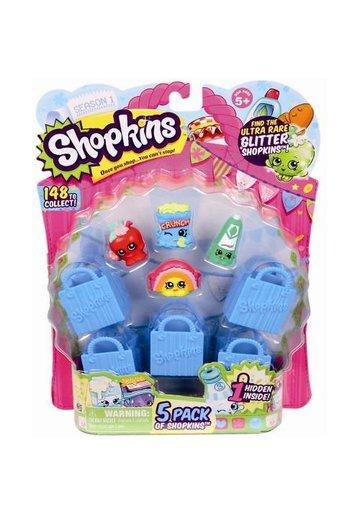 Shopkins 5 Figurine cu Accesorii