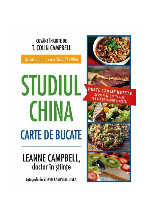 Studiul China – Carte de Bucate imagine librex.ro 2021