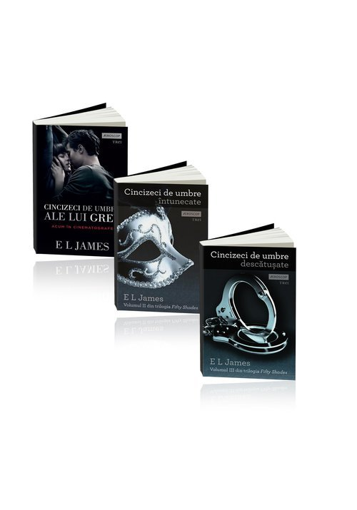 Trilogia Cincizeci de umbre - E L James