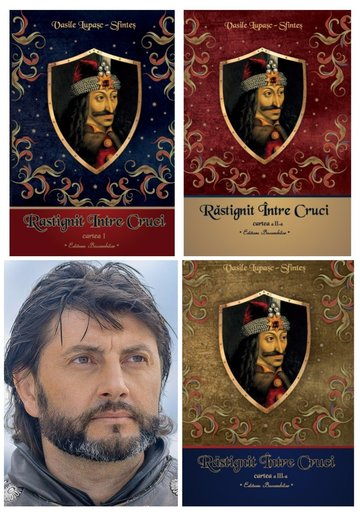 Trilogia Rastignit intre Cruci de Vasile Lupasc - Pachet complet 3 volume