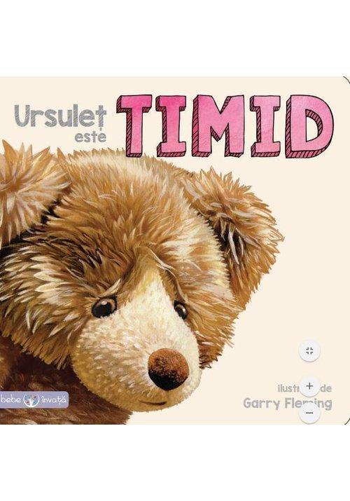 Ursulet este timid imagine librex.ro 2021