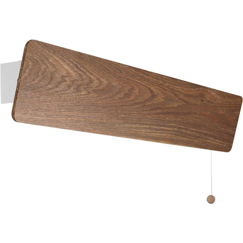 Aplica Oslo Smoked Oak Led