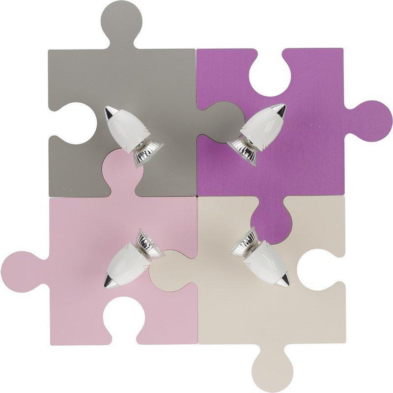 Aplica Nowodvorski Puzzle Multi Rosse luxuriante.ro 2021