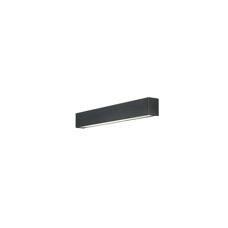 Aplica Nowodvorski Straight LED Wall Graphite S luxuriante.ro 2021