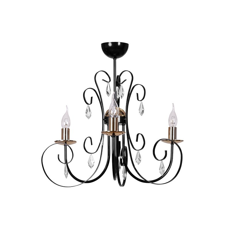 Candelabru Foreman Black Imagine