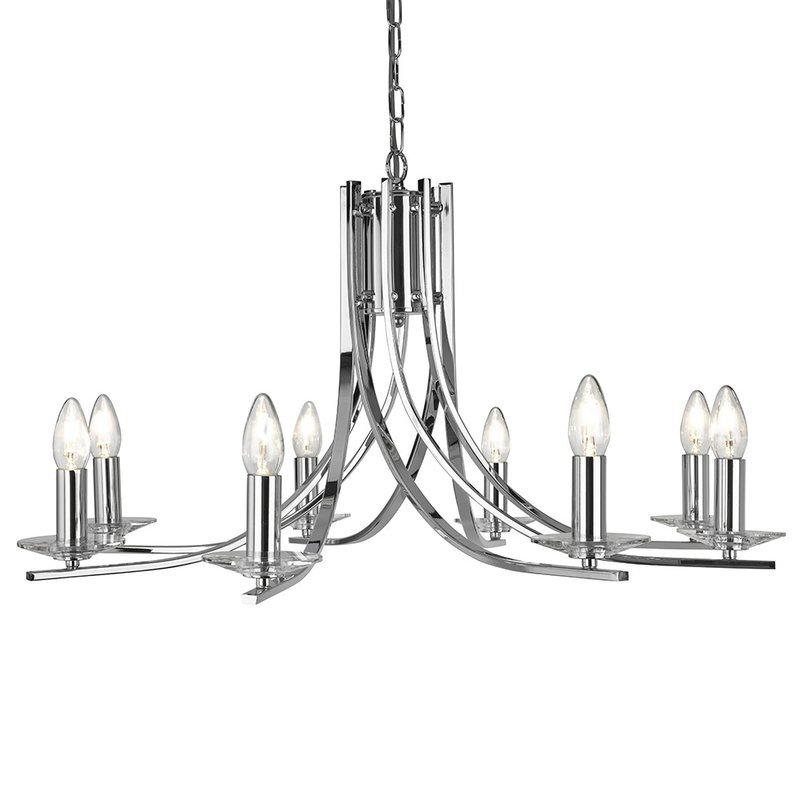 Foto Candelabru Crom Searchlight