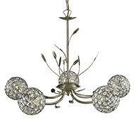 Candelabru Searchlight Bellis Brass V
