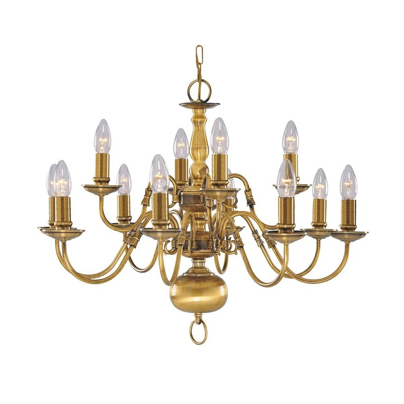 Candelabru Searchlight Flemish XII luxuriante.ro 2021