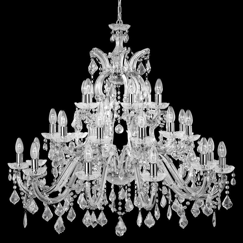 Candelabru Searchlight Marie Therese X luxuriante.ro 2021