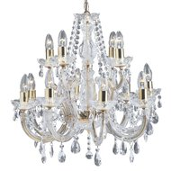 Candelabru Searchlight Marie Therese Gold L