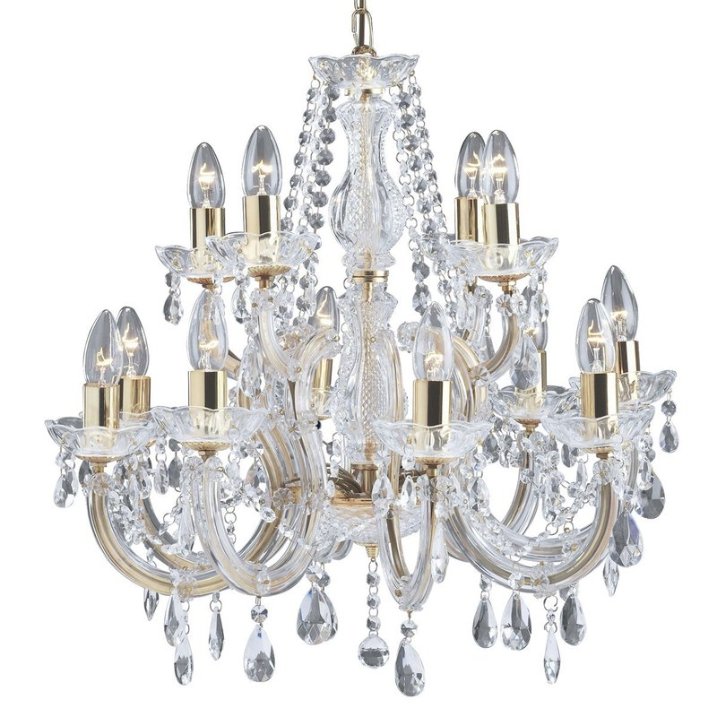 Candelabru Searchlight Marie Therese Gold L luxuriante.ro 2021