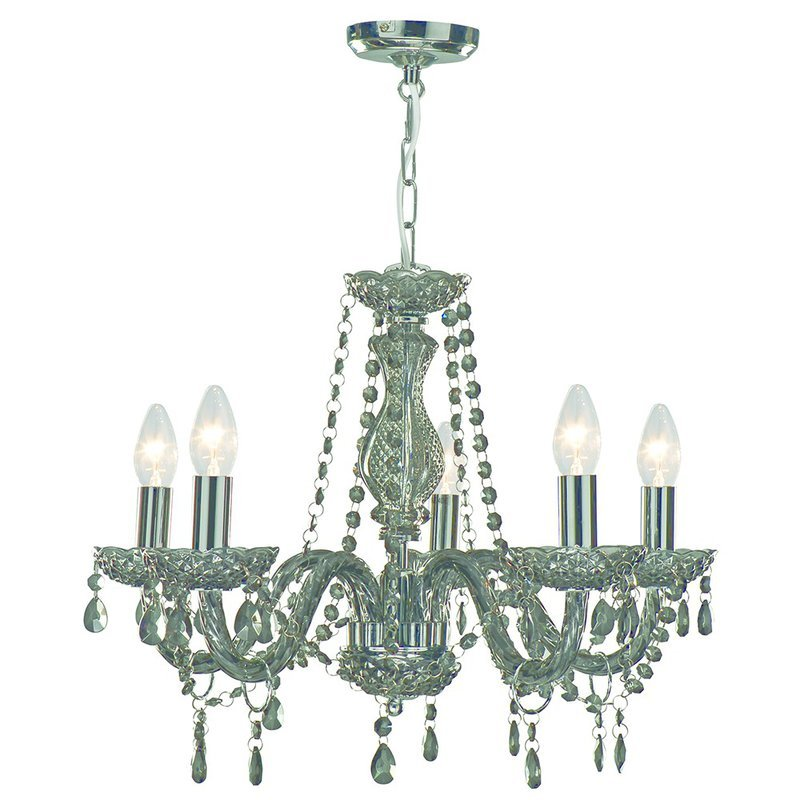 Candelabru Searchlight Marie Therese Smoked M luxuriante.ro 2021