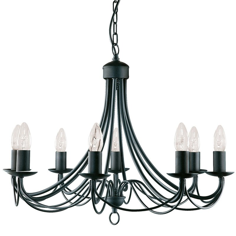 Foto Candelabru Negru Searchlight