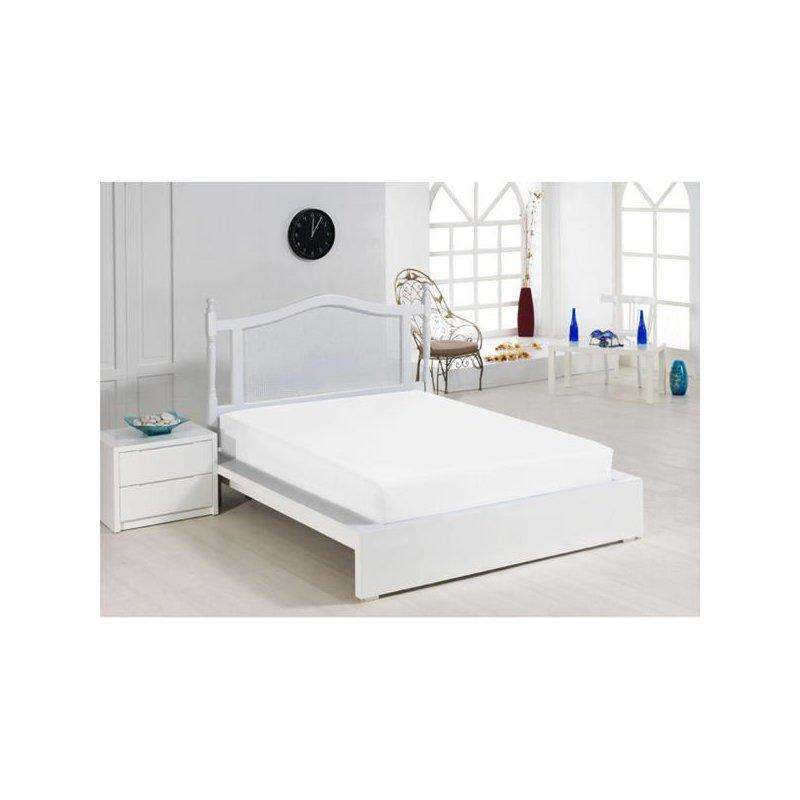 Cearceaf cu elastic alb 140x200 luxuriante.ro 2021