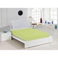 Cearceaf cu elastic verde 160x200