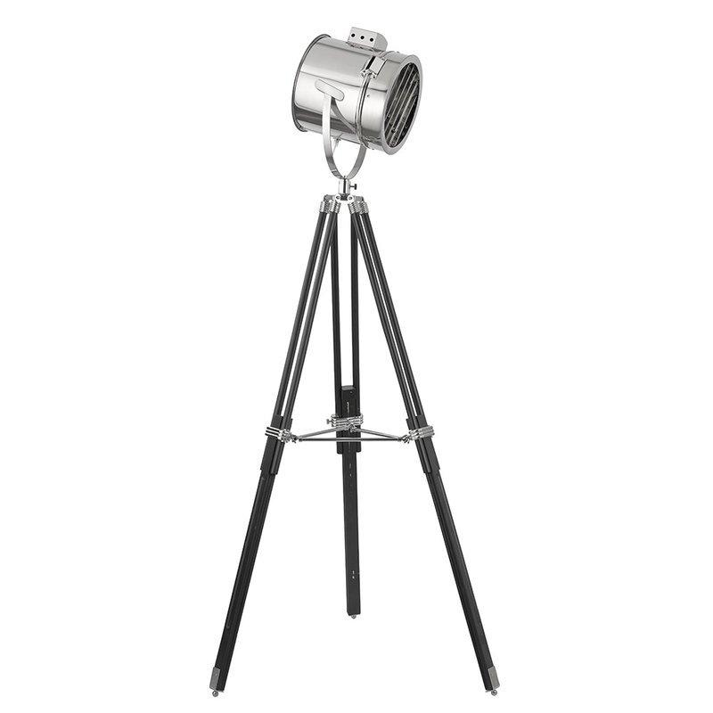 Lampadar Searchlight Floor Tripod Black luxuriante.ro 2021