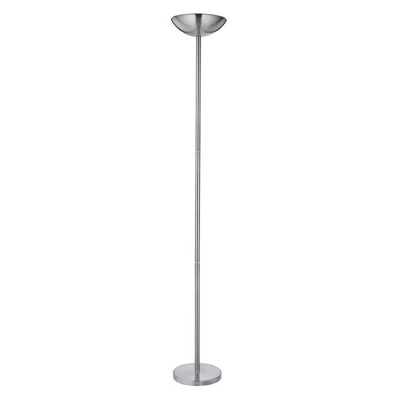 Lampadar Uplighters Silver