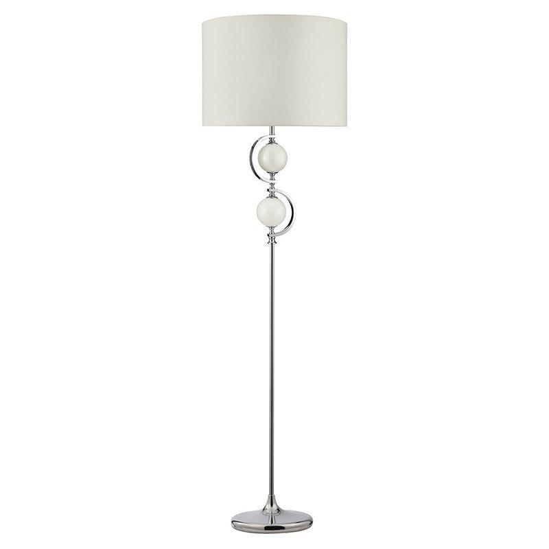 Lampadar Searchlight White Glass luxuriante.ro 2021