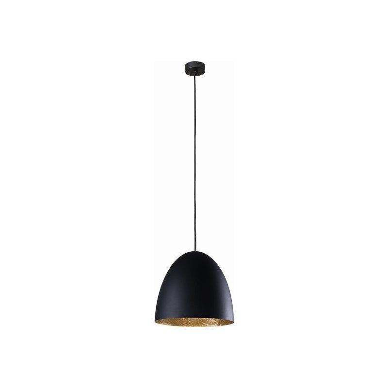 Pendul Egg Black Gold