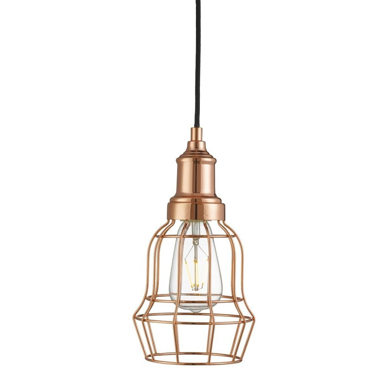 Pendul Bell Cage Copper