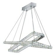 Pendul Searchlight Clover Rectangles
