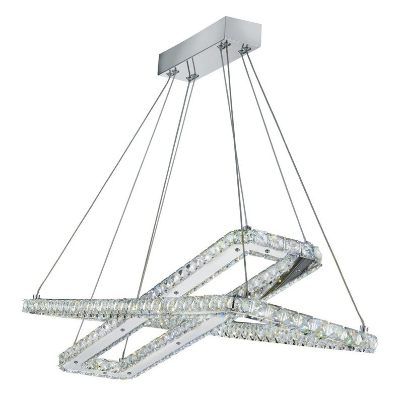 Pendul Clover Rectangles Searchlight