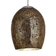 Pendul Searchlight Crackle Bronze Mosaic