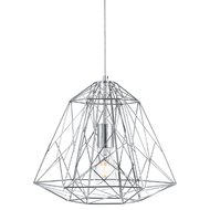 Pendul Searchlight Geometric Cage Chrome