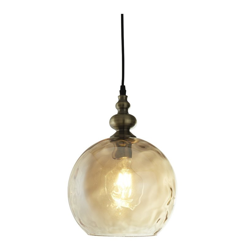 Pendul Indiana Globe Amber