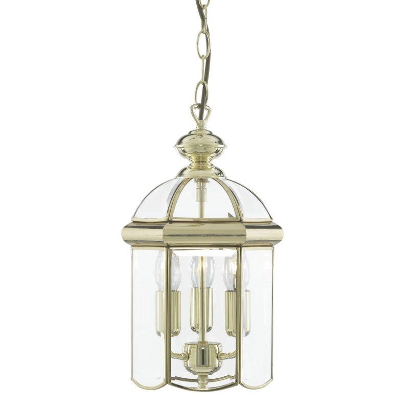 Pendul Lanterns Brass