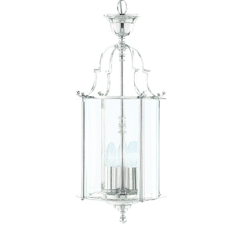 Foto Pendul Lanterns Chrome