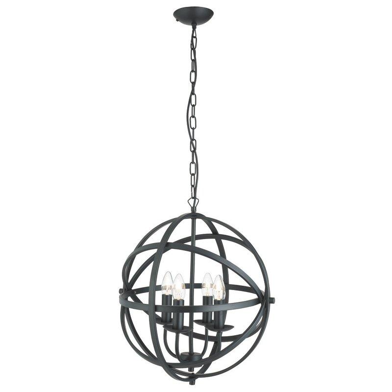Pendul Searchlight Orbit Black IV luxuriante.ro 2021