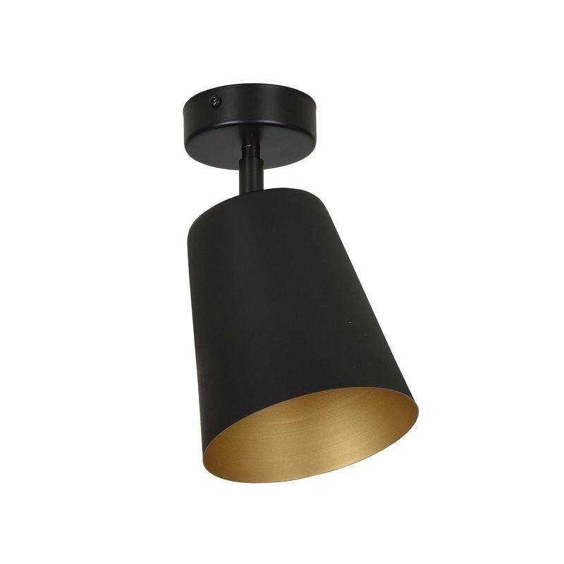 Plafoniera Prism Black Gold