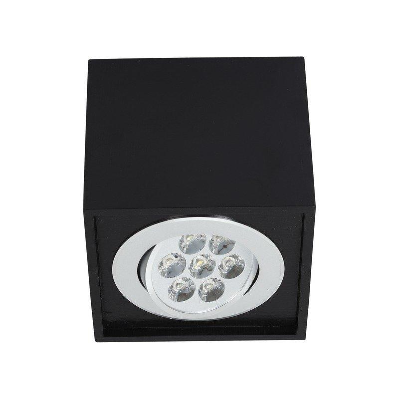Plafoniera Nowodvorski Box LED Black 7W luxuriante.ro 2021