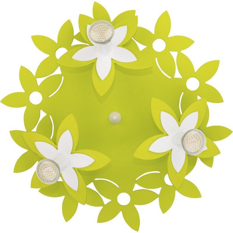 Plafoniera Flowers Green