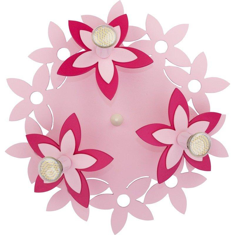 Plafoniera Flowers Pink