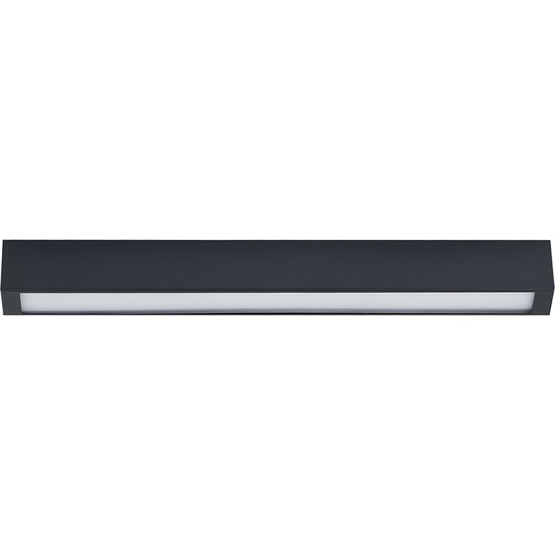 Plafoniera Straight Led Ceiling Graphite