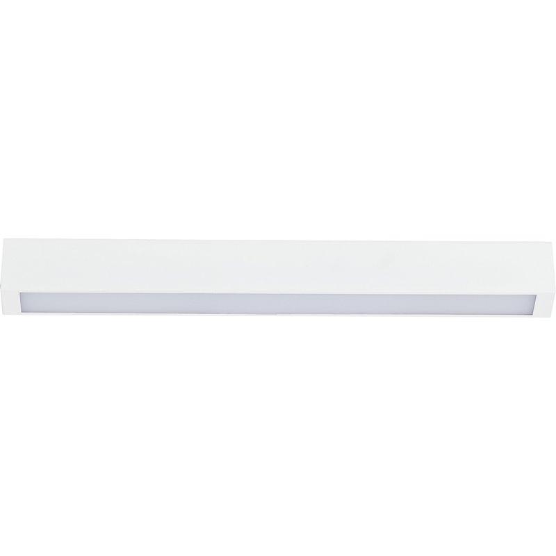 Plafoniera Straight Led Ceiling White
