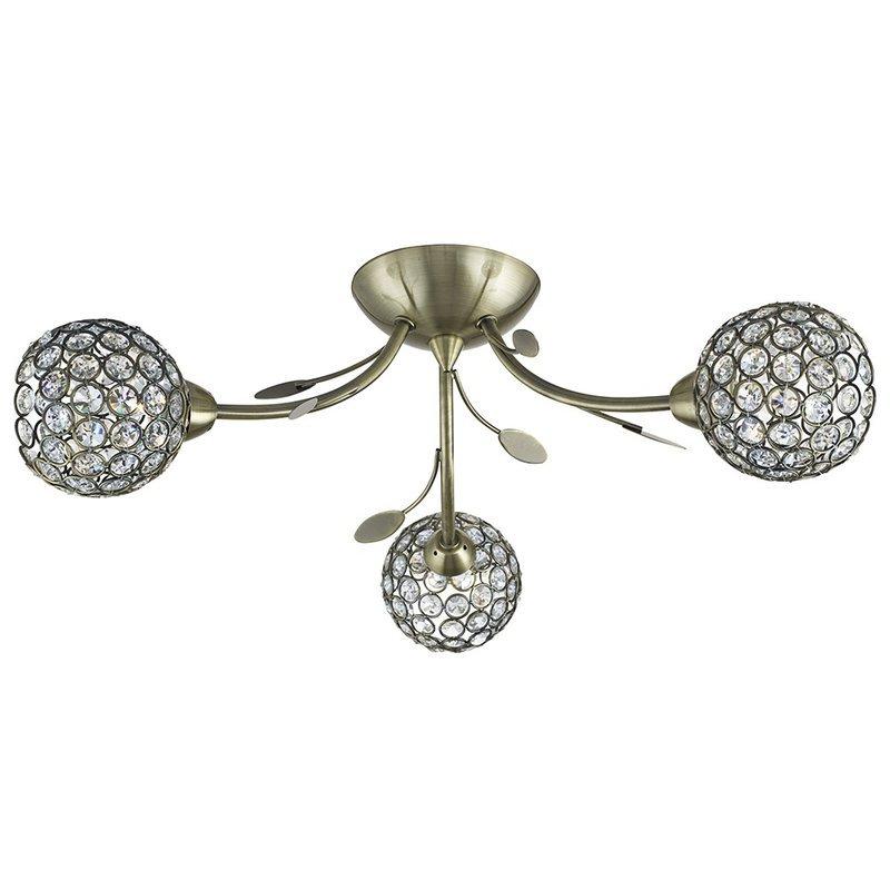 Plafoniera Bellis Brass
