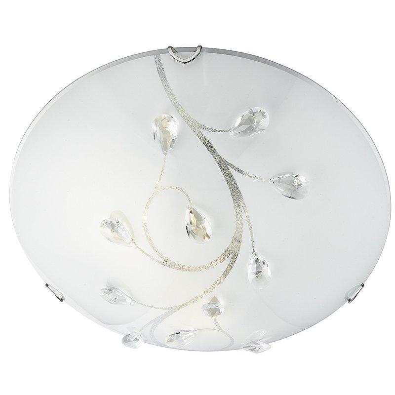 Plafoniera Searchlight Flush Crystal L luxuriante.ro 2021