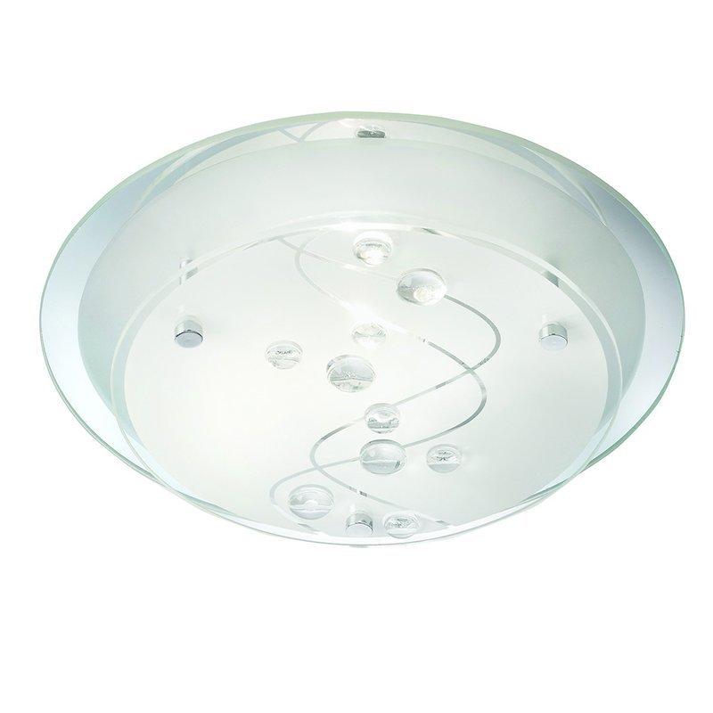 Plafoniera Searchlight Flush Frosted S luxuriante.ro 2021