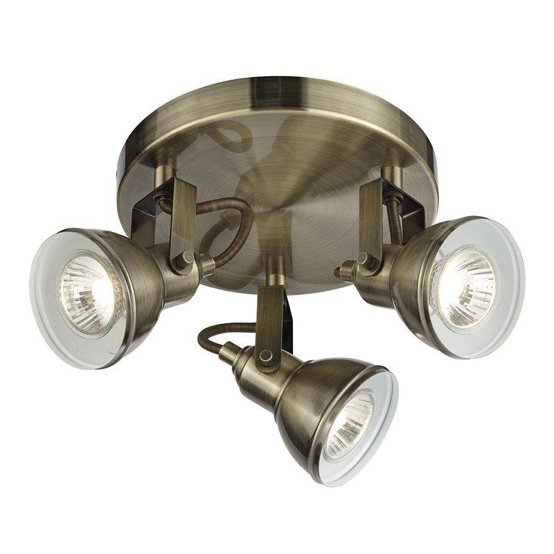 Plafoniera Focus Brass Searchlight